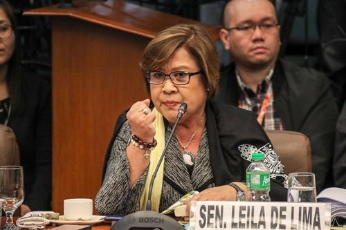 Lawmakers under fire but claim De Lima disrespected them