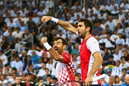 DAVIS CUP: Croatia win doubles to take 2-1 lead over Argentina