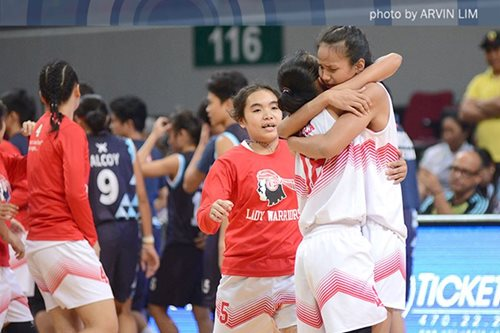 UE repulses Adamson, advances in women's hoops