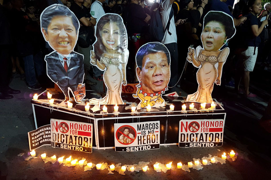 IN PHOTOS: Young and old join forces against Marcos burial;