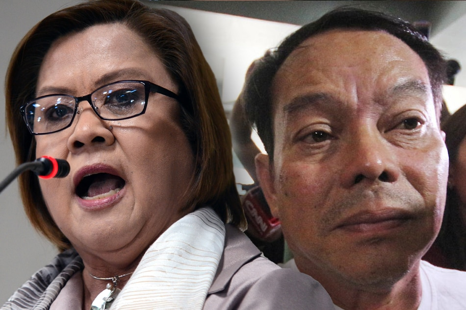 Image result for de lima with espinosa