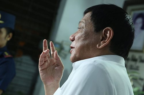 Duterte says Trump wishes him 'success' in drug war