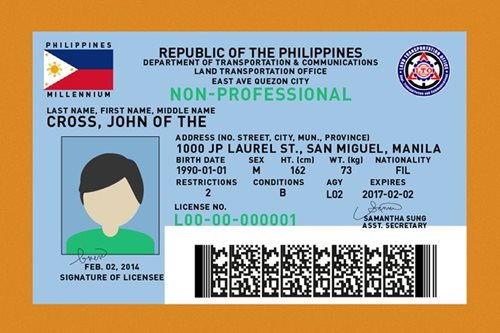 Driver's license cards out now in Metro Manila