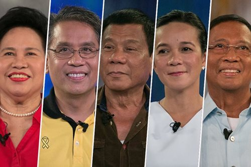 Donors, Inc.: Only 830 Filipinos bankrolled poll bid of 5 prez bets