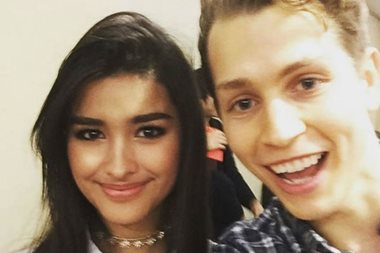 What James of The Vamps likes about Liza