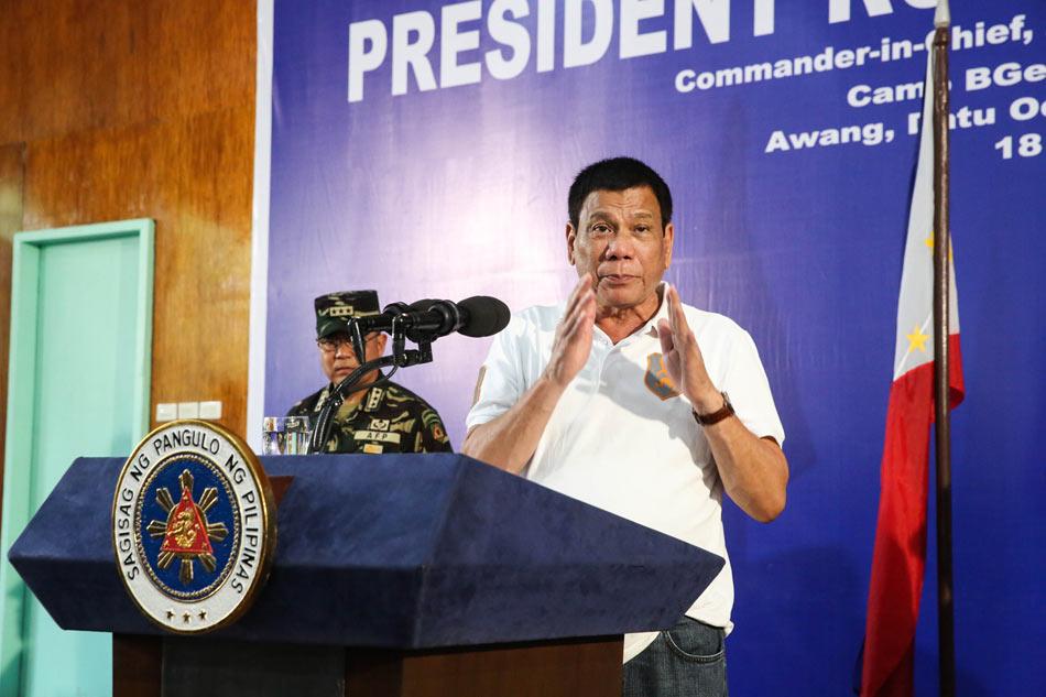 Philippines tells UN: Duterte not committing crime 1