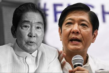 'Marcos burial paves way for Bongbong's ascent'