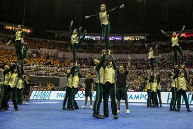 Hard work pays off for FEU cheerdance squad