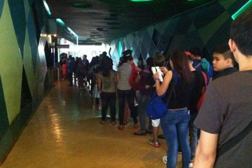 LOOK: Long lines as Vice-Coco movie opens nationwide