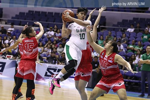 La Salle routs UE to advance to women's Finals