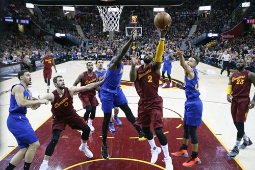 Tapatang Cavaliers vs. Warriors, inaabangan na