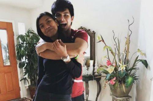 LOOK: Alyssa Valdez visits Kiefer Ravena in the US to celebrate 'month-sary'