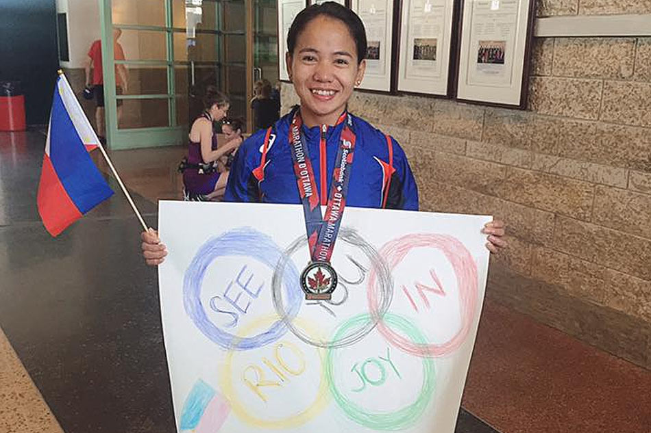 Tabal glad to have held on to her Olympic dreams