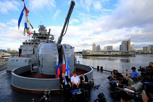 Russia offers guns to Philippines