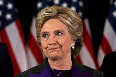 Hillary Clinton: 'This loss hurts'