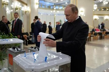 Russian police find evidence of fraud during parliamentary election
