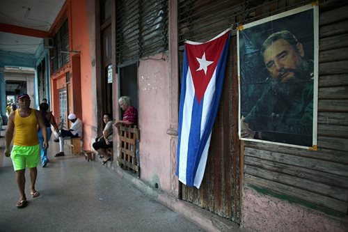 No music or rum for tourists after Castro death