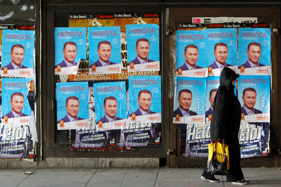Macedonians vote in early elections after wiretap scandal