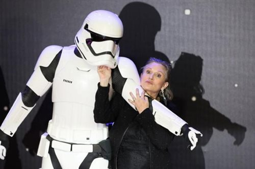 Carrie Fisher 'stable' after cardiac incident, mother says