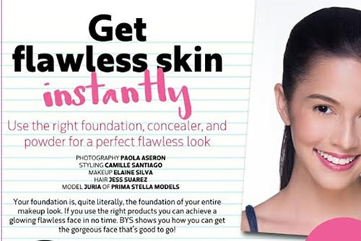 Get flawless skin instantly!