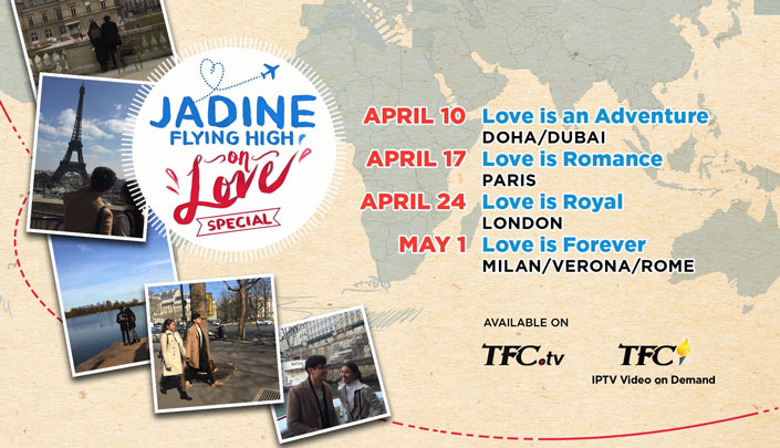 JaDine Flying High On Love Special