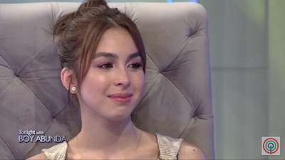 Julia Barretto gets emotional as she talks about her big break