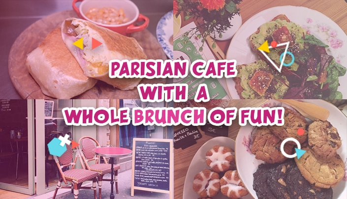 Muscovado: Parisian cafe with a whole brunch of fun!