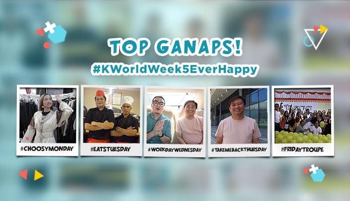 Top Ganaps of #KWorldWeek5EverHappy!