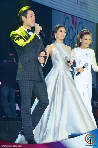 PHOTOS: The hosts of Himig Handog P-Pop love Song 2014 Finals Night
