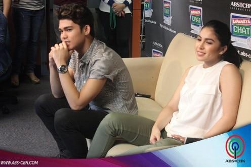 BEHIND-THE-SCENES PHOTOS: Julia Barretto and Inigo Pascual on Kapamilya Chat