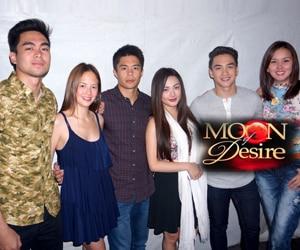PHOTOS: Moon of Desire cast, nakisaya sa Bangus Festival sa Dagupan