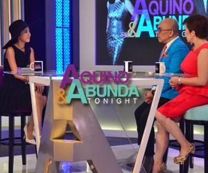 PHOTOS: Aquino & Abunda Tonight with Sandara Park