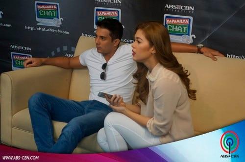 LOOK: Shaina Magdayao & Ejay Falcon at the Kapamilya Chat
