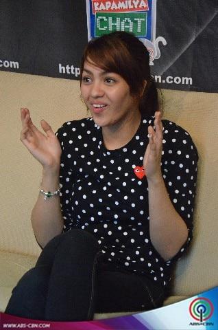 LOOK: The pretty Jane Oineza at the Kapamilya Chat
