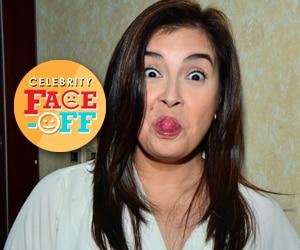 LOOK: Ang mataray na kontrabidang si Bing Loyzaga, nagpakwela!