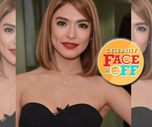 PHOTOS: Captivating Bangs Garcia on Celebrity Face Off