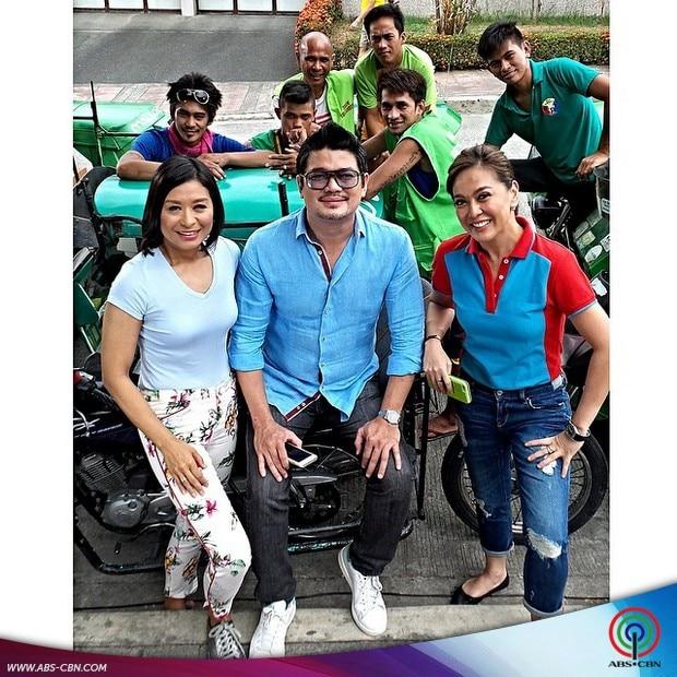 #ShinePilipinas: ABS-CBN News anchors  enjoying summer at the ABS-CBN SID 2015 shoot