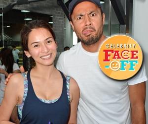 Derek Ramsey & Jennylyn Mercado, magkasamang hinarap ang Celebrity Face Off