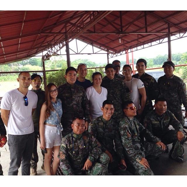 PHOTOS: Coco Martin, sumabak na sa matinding police training para Ang Probinsyano