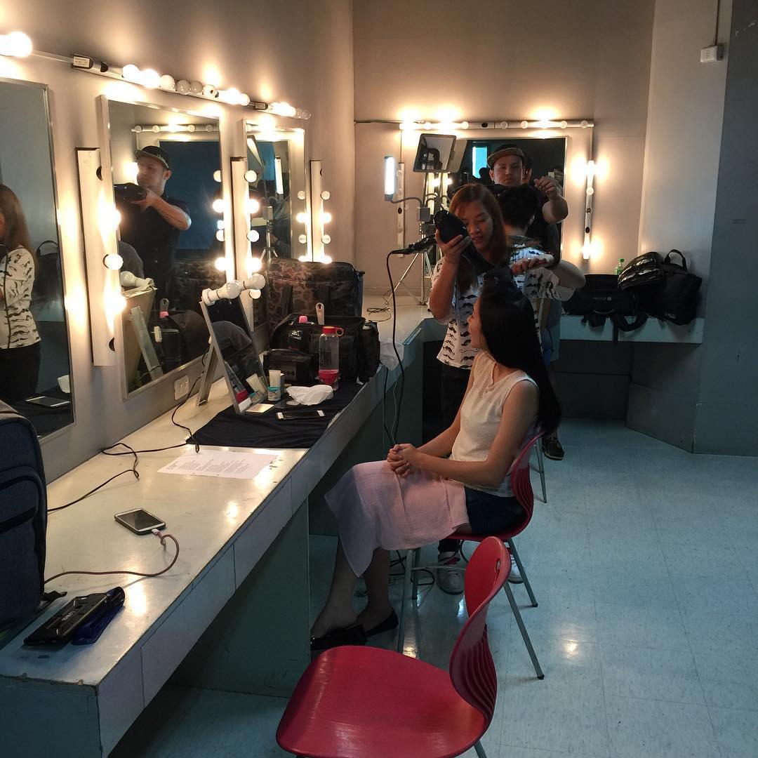 PHOTOS: Tanya Garcia at Yves Flores sasabak sa drama sa MMK