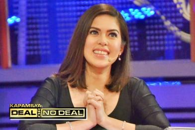 PHOTOS: Single and sexy Shaina Magdayao on Kapamilya Deal or No Deal